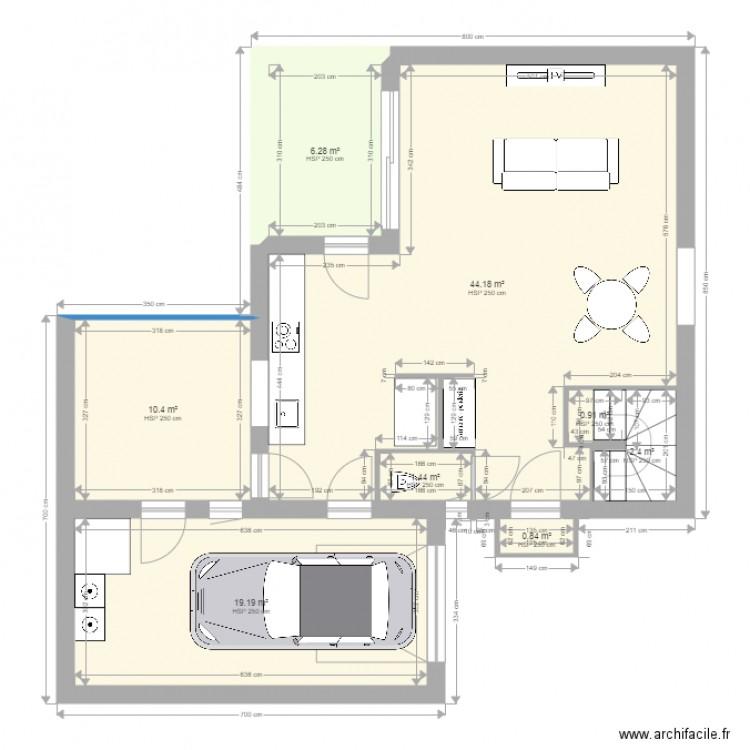 Maison lentilly 51 gueret plan 132 pi ces 1370 m2 dessin par yoann69100 - Consommation electrique moyenne maison 140 m2 ...