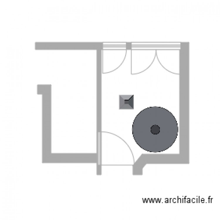 arri re cuisine avant destruction plan dessin par romaindesj. Black Bedroom Furniture Sets. Home Design Ideas