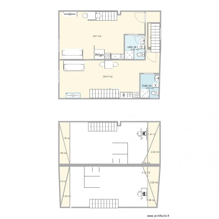 plan appartement 82m2