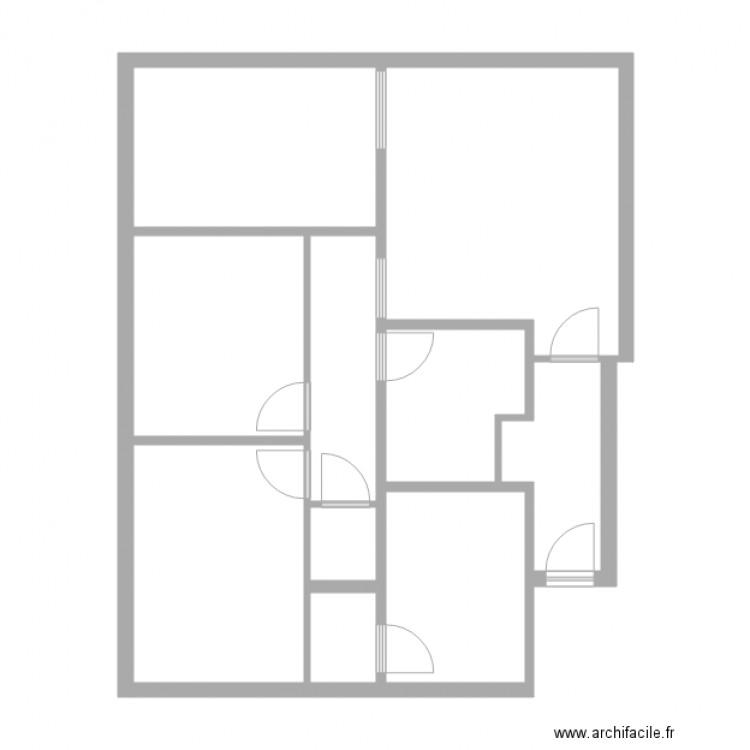 lyazid strasbourg plan 10 pi ces 74 m2 dessin par lcd 67. Black Bedroom Furniture Sets. Home Design Ideas