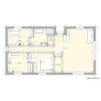 plan maison 50 metre carre