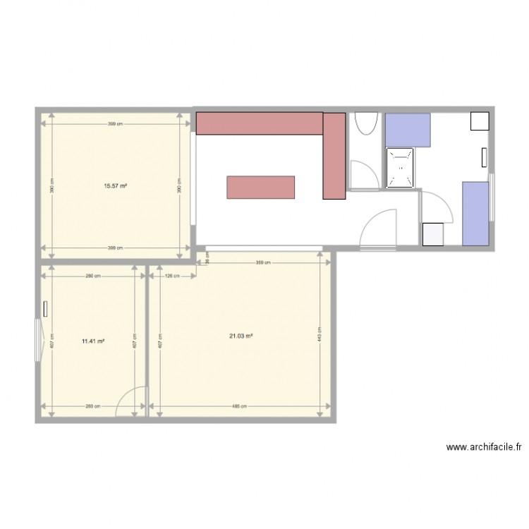 Maison V Randa Plan 3 Pi Ces 48 M2 Dessin Par Salle De