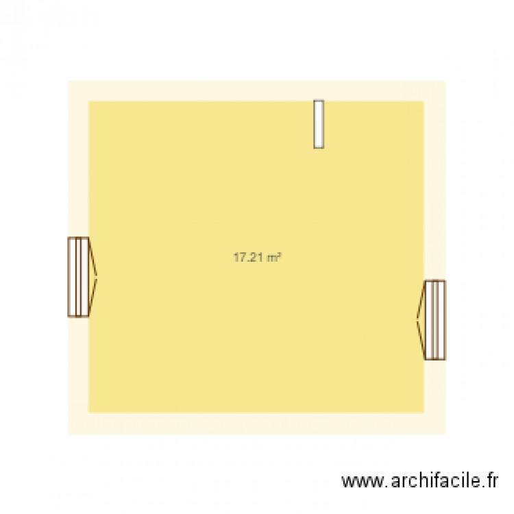 Cuisine 3d plan 1 pi ce 17 m2 dessin par nassoura for Cuisine 3d saujon 17