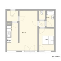 Plan appartement Patrick Paris 1
