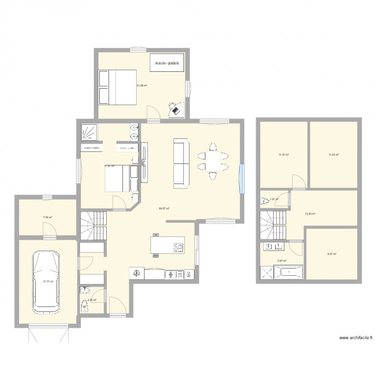 plan maison natigreen