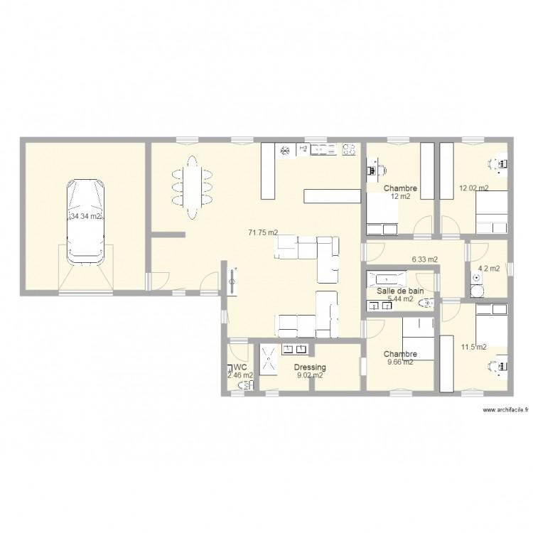 Plan maison 140 m2 cliquez sur une photo pour maison - Plan maison 140 m2 etage ...