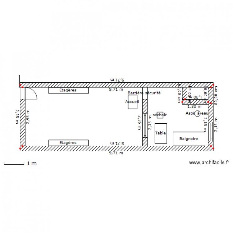 Salon toilettage plan dessin par stocker - Salon toilettage a vendre ...