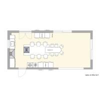 plan appartement 42 m2