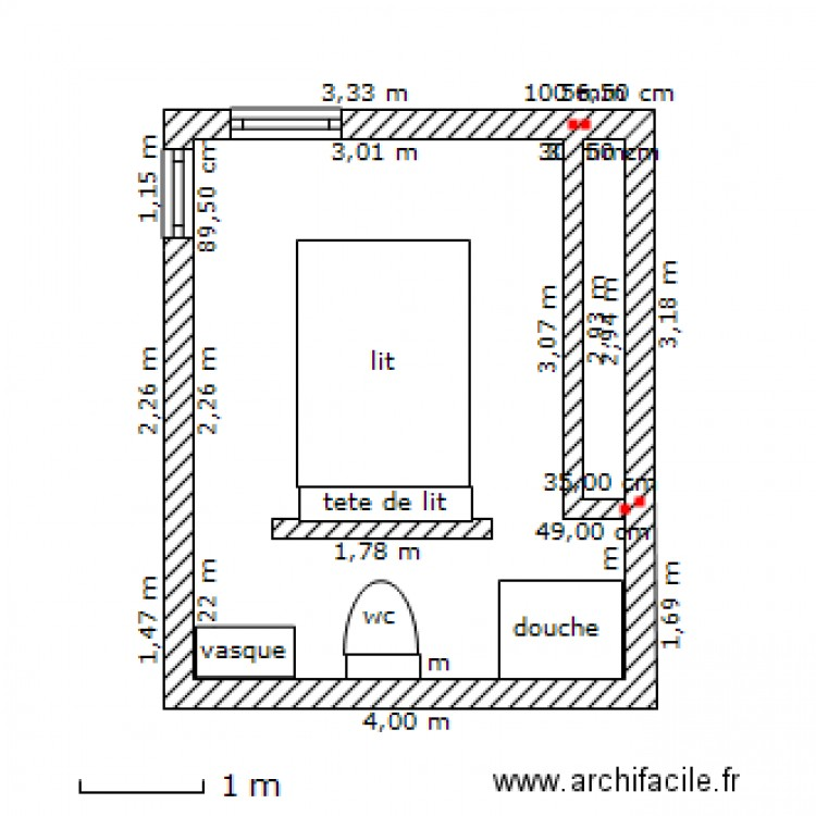 Suite parentale 3 15 m plan dessin par nana33380 for Plan de suite parentale