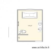 plan de salle de bain - archifacile - Plan Salle De Bain 5m2