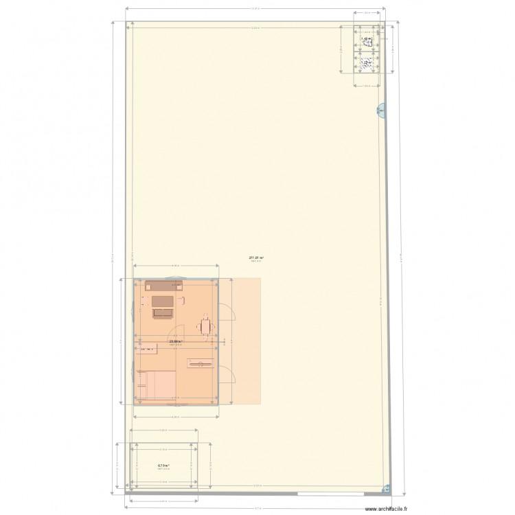 maison plan 5 pi ces 310 m2 dessin par jackmamod. Black Bedroom Furniture Sets. Home Design Ideas