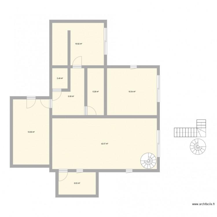 Chez moi2 plan 8 pi ces 120 m2 dessin par matthieu70 - Plan appartement 120 m2 ...