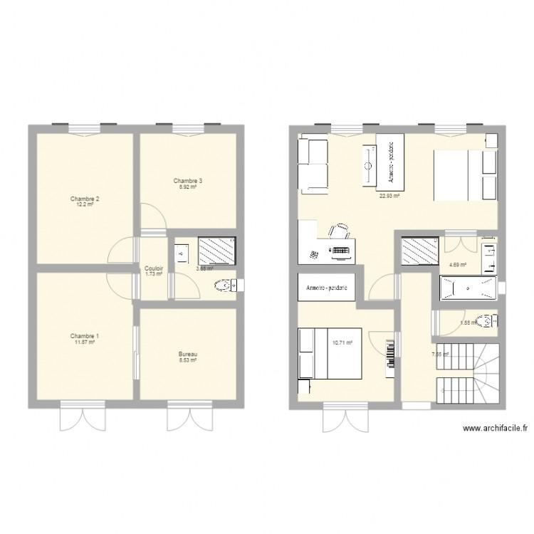 Plan origine maison buc haras v3 plan 11 pi ces 94 m2 for Origine du mot maison