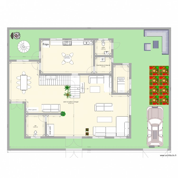 Maisonzeebro2 Plan 16 Pi Ces 526 M2 Dessin Par Bewa10