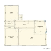Appartement plan initial