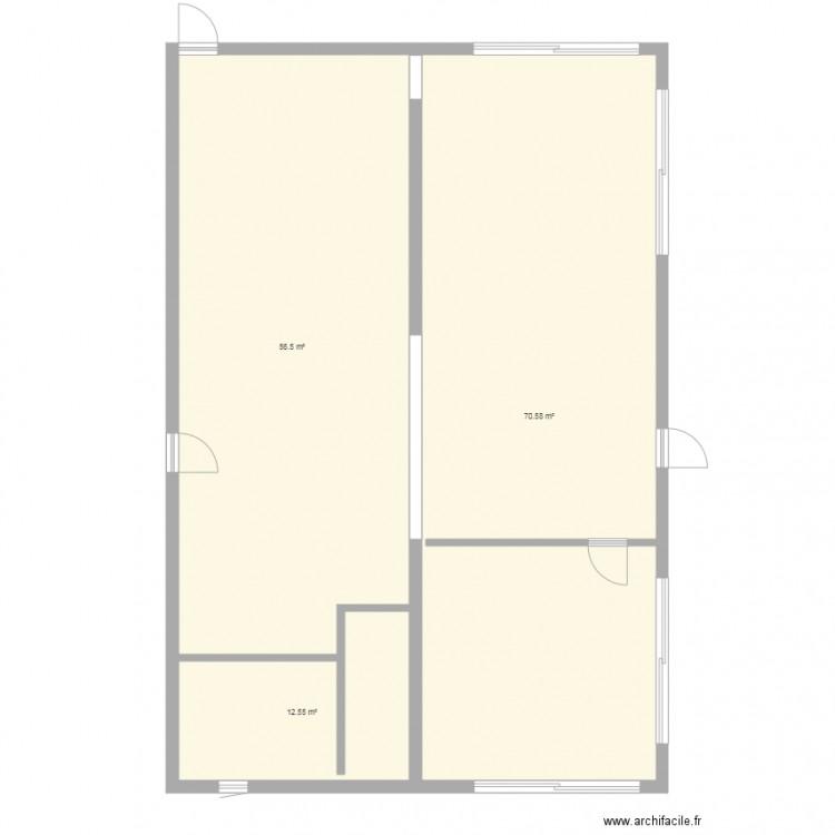 Bagneres plan 3 pi ces 140 m2 dessin par drvet - Consommation electrique moyenne maison 140 m2 ...