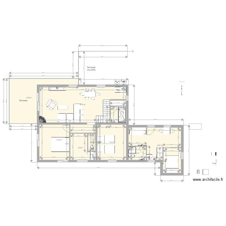 plan appartement 150 m2 - maison perso 12 et alando plan 12 pi ces 150 m2 dessin