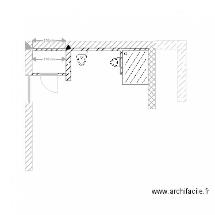 sdb plan dessin par berthonnet. Black Bedroom Furniture Sets. Home Design Ideas