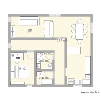 Maison 60m2 60m2 bon march maisons cher maison for Plan maison 60m2