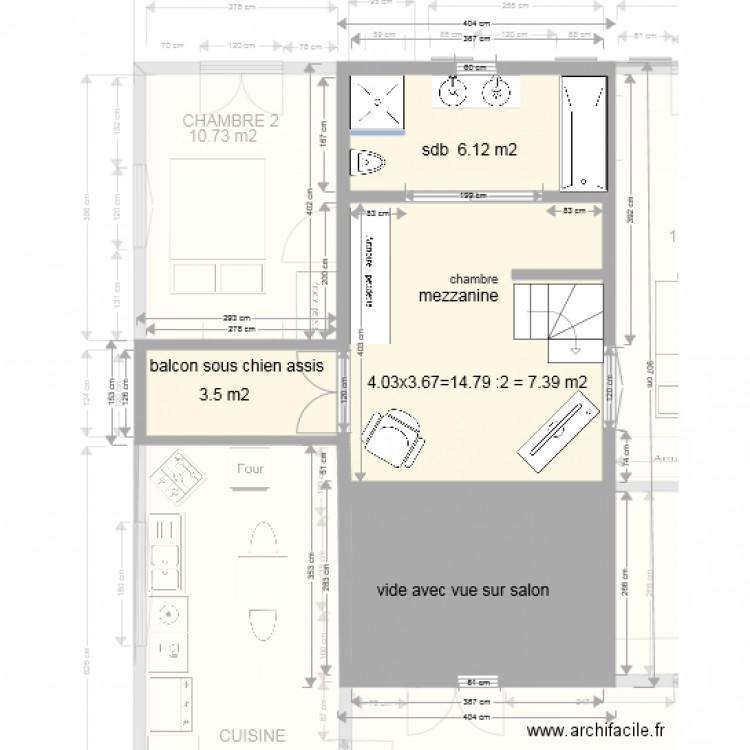maison plan avec mezzanine - Plan 10 pièces 140 m2 dessiné ...