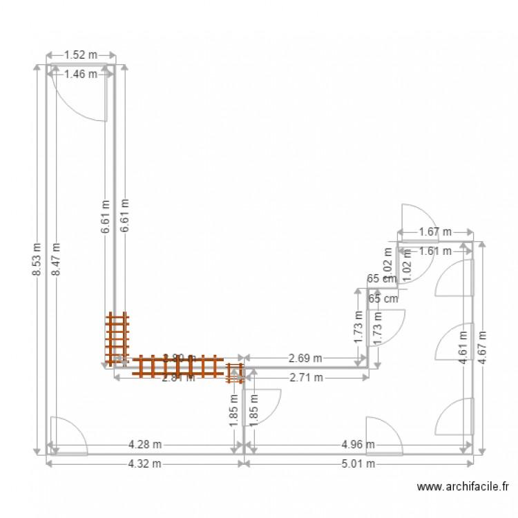 105 Original Plan 2 Pi Ces 32 M2 Dessin Par Arnaudsv