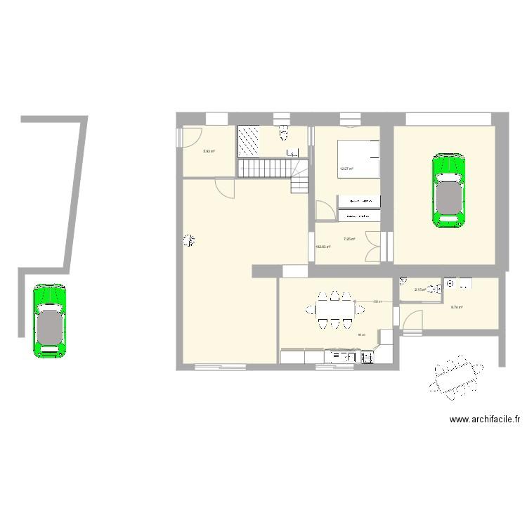 electrique plan 6 pi ces 115 m2 dessin par saint savinien. Black Bedroom Furniture Sets. Home Design Ideas