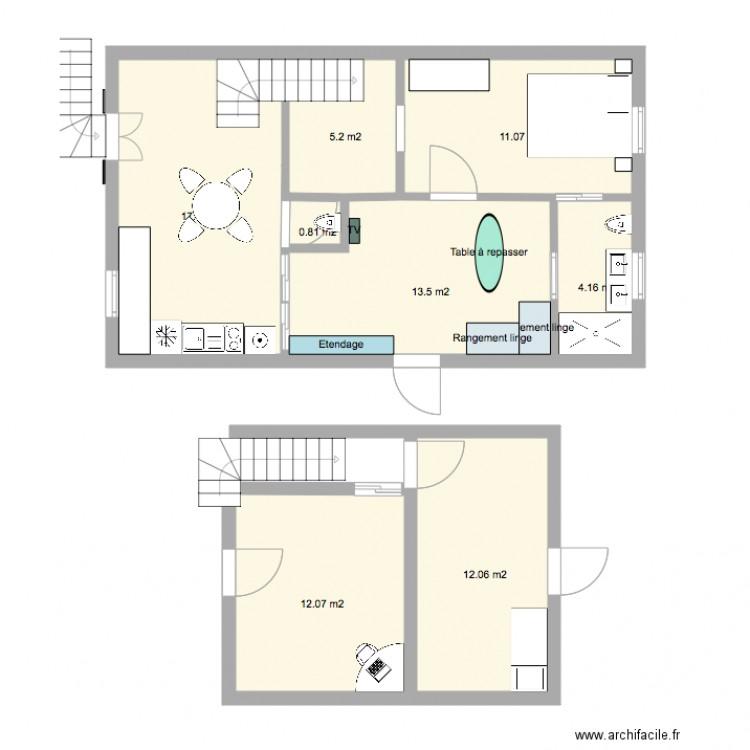 M Duplex  Plan  Pices  M Dessin Par Rcfav