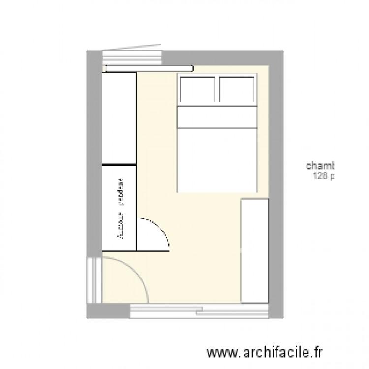 Chambre plan 1 pi ce 12 m2 dessin par cafeconlechecircus for Chambre one piece