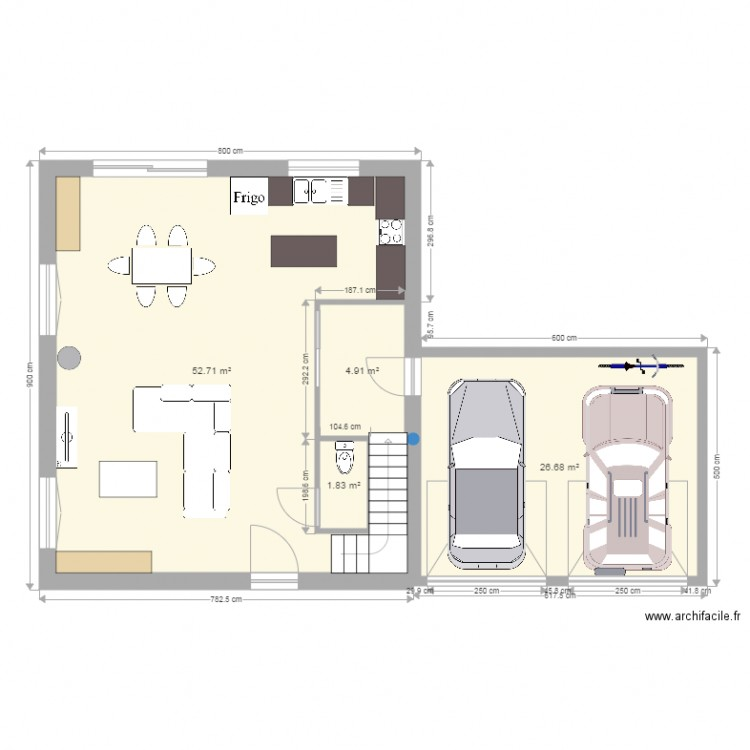 Maison nergie positive plan 4 pi ces 86 m2 dessin for Plan maison positive