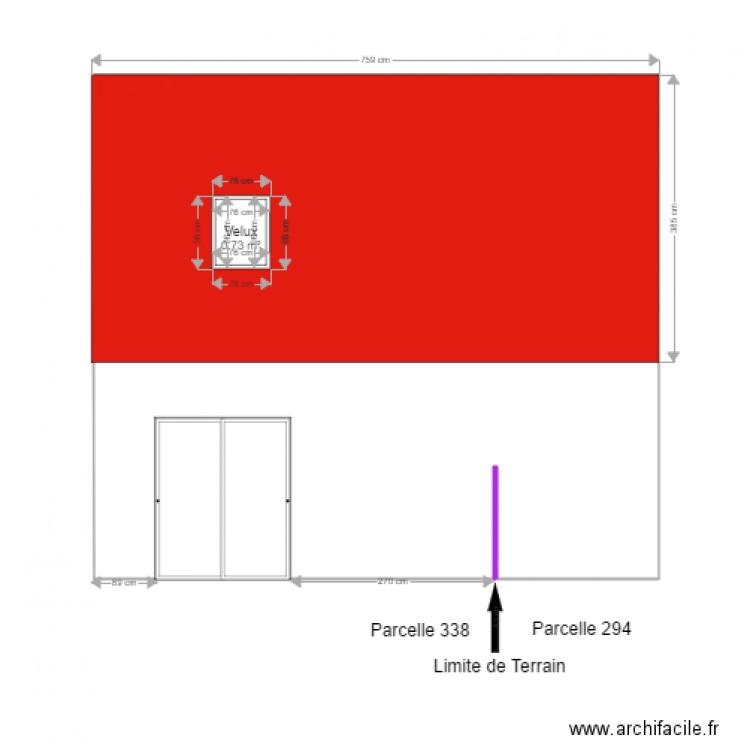facade arri re plan 1 pi ce 1 m2 dessin par jeanpinou. Black Bedroom Furniture Sets. Home Design Ideas