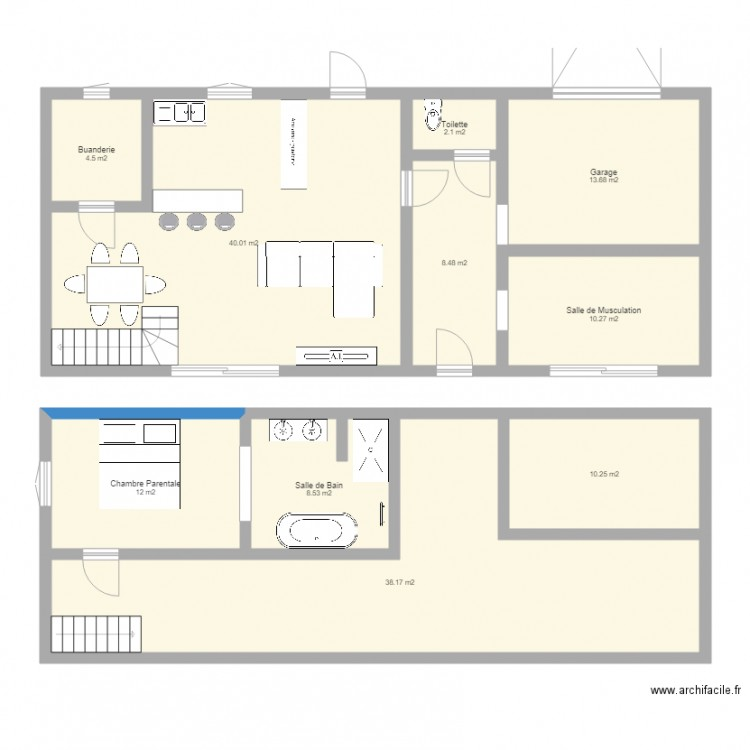 Plan Maison Gratuit Avec Archifacile Dessinez 5