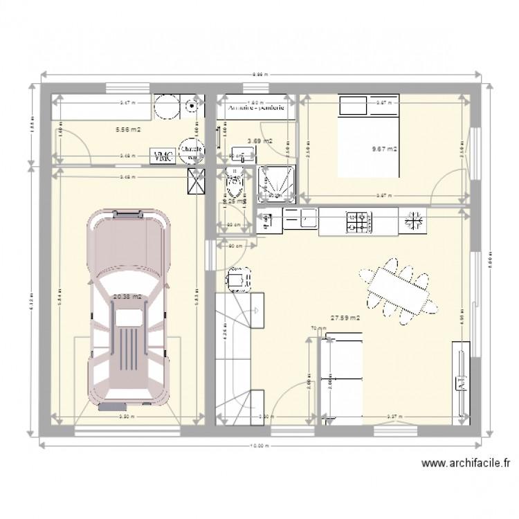 Maison Mitoyenne Autre Plan 11 Pieces 137 M2 Dessine Par Tatbib