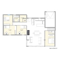 PLAN 4 CHAMBRES CUISINE ENTREE