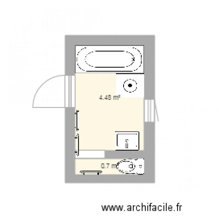 salle de bain nafissaitou final plan 2 pi ces 5 m2. Black Bedroom Furniture Sets. Home Design Ideas