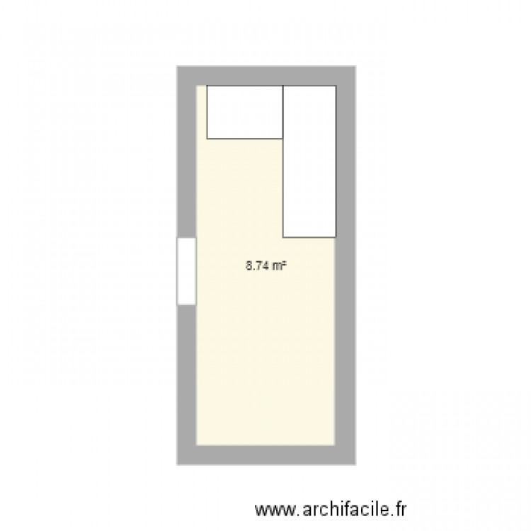 cong lateur plan 1 pi ce 9 m2 dessin par russin1281. Black Bedroom Furniture Sets. Home Design Ideas