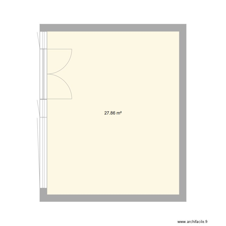 Fen tres 2018 plan 1 pi ce 28 m2 dessin par vivacook for Renover fenetre