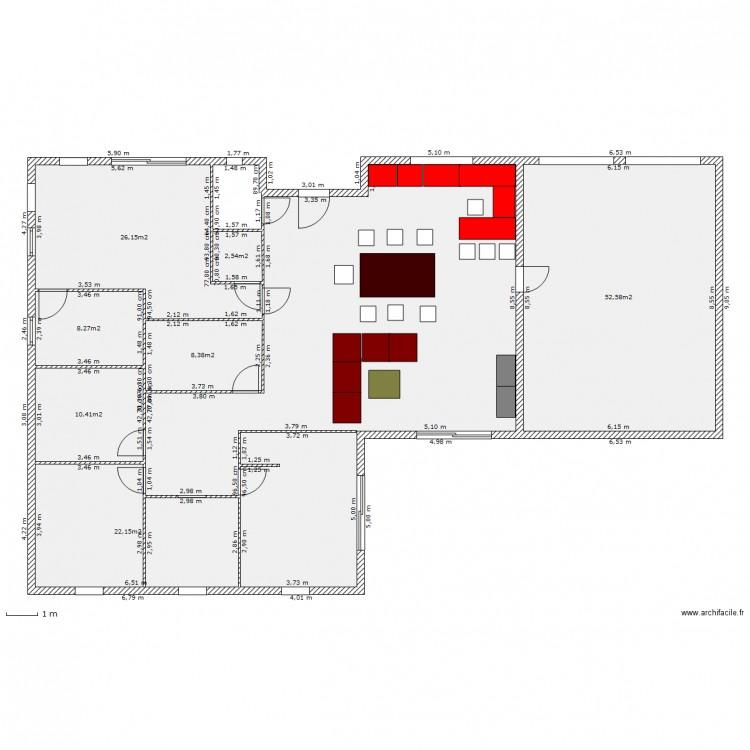 Ma maison plan 8 pi ces 225 m2 dessin par nicola ielpo for Dessine ma maison gratuitement