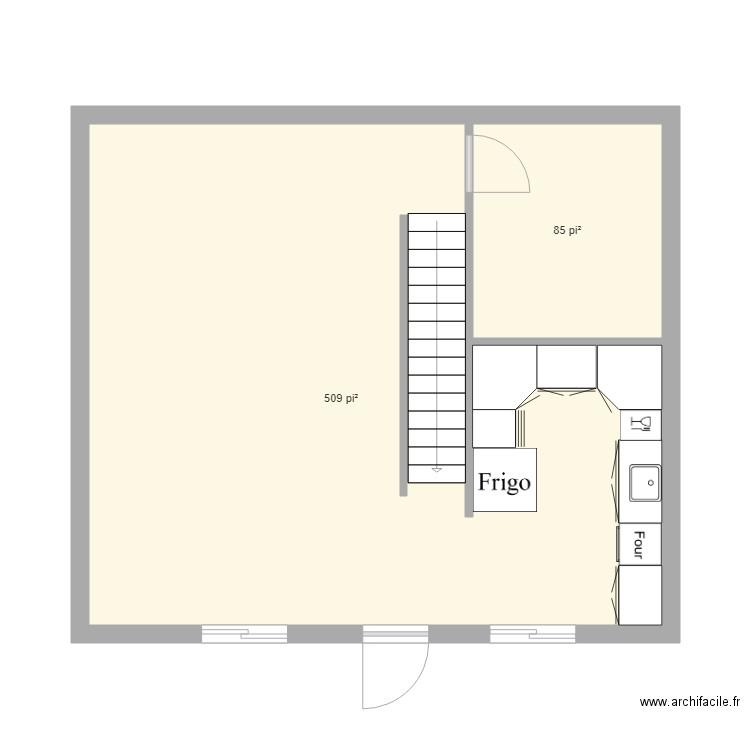 plan de maison 24 x 26