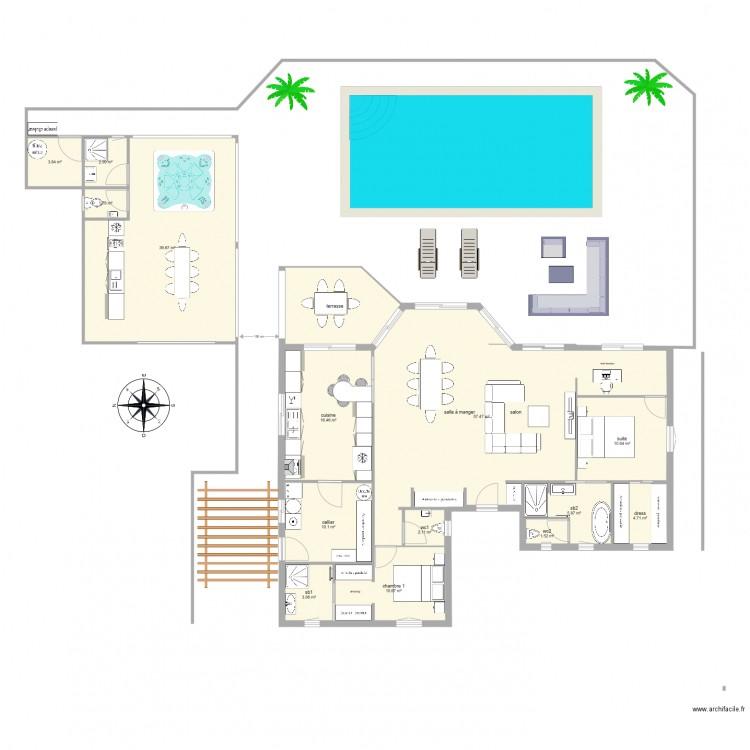 maison bon plan 15 pi ces 183 m2 dessin par goodspeed. Black Bedroom Furniture Sets. Home Design Ideas