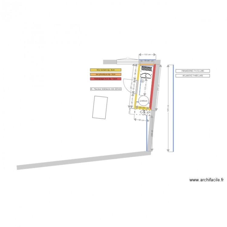 Local technique v2 plan 1 pi ce 2 m2 dessin par thierryd44 for Plan local technique
