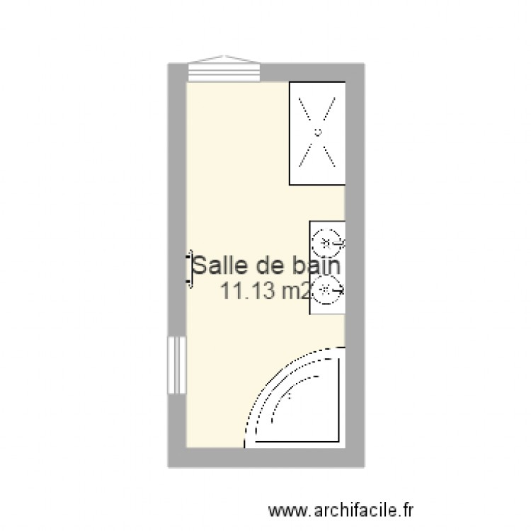 Salle de bain 11m2