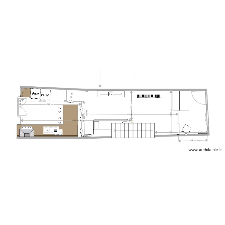 rdc loft 34 v2 plan dessin par alan manach. Black Bedroom Furniture Sets. Home Design Ideas