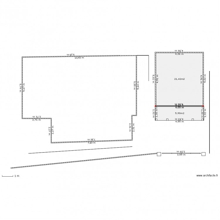 Plan final garage maison plan de masse plan 2 pi ces 27 - Plan de maison 2 pieces ...