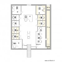 plan maison 8 pieces