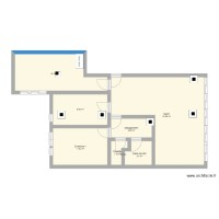 Plan appartement vide