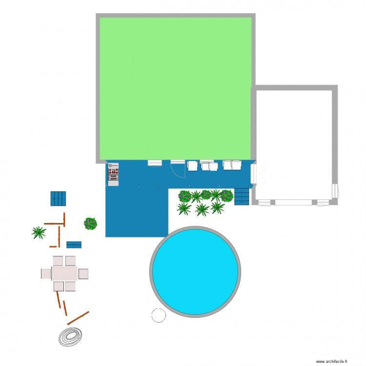 Galeries 12 pieds long piscine tass e plan 3 pi ces 111 for Piscine 12 pieds