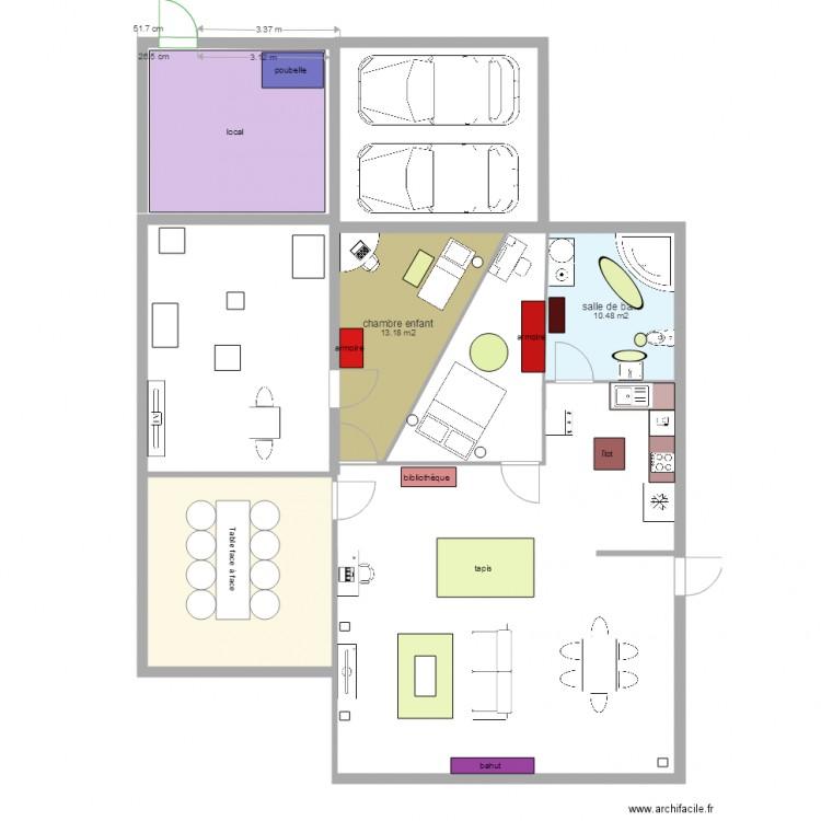 Plan maison enfant exemple de plan de permis de - Plan de maison pour enfant ...