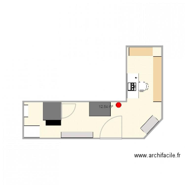 Local technique plan 1 pi ce 13 m2 dessin par tmaisondieu for Plan local technique