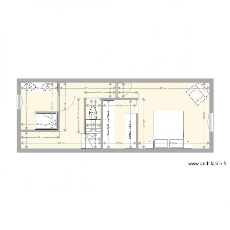 Tre connect pour laisser un commentaire sur ce plan cliquez ici - Plan de maison 2 pieces ...