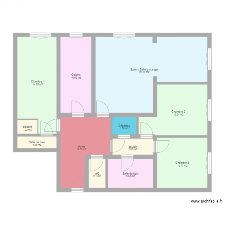 plan appartement f5